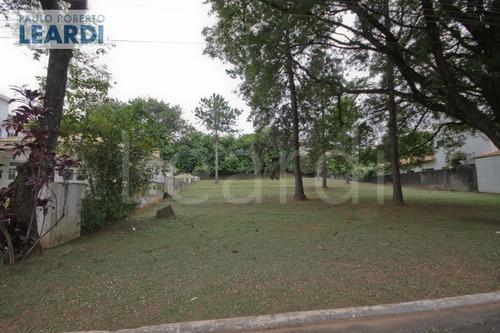 terreno em condomínio alphaville - santana de parnaíba - ref: 499074