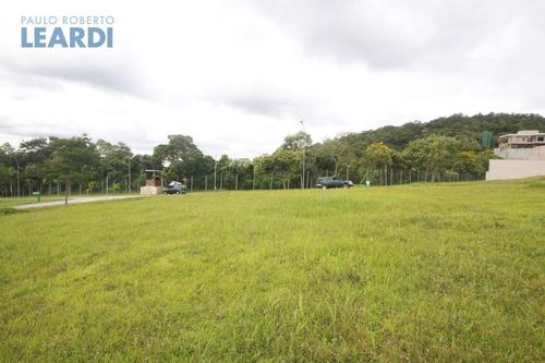 terreno em condomínio alphaville - santana de parnaíba - ref: 535404