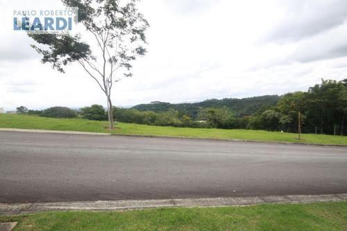 terreno em condomínio alphaville - santana de parnaíba - ref: 535430