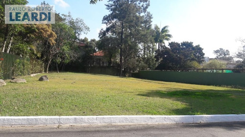 terreno em condomínio alphaville - santana de parnaíba - ref: 535807