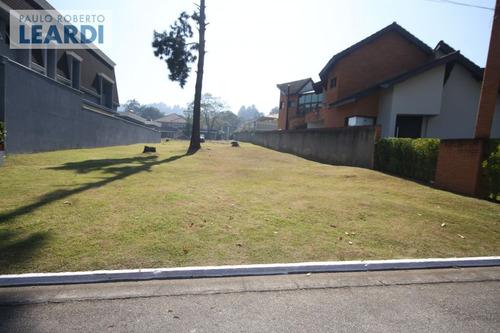 terreno em condomínio alphaville - santana de parnaíba - ref: 546507