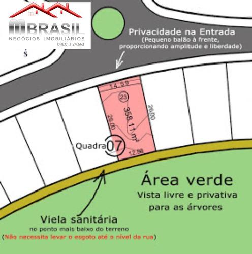terreno em condomínio central parque, salto, sp - te00702 - 33707530