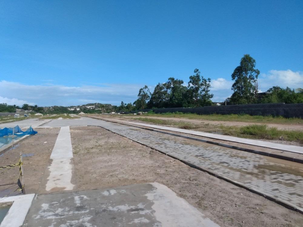 terreno em condomínio com total infraestrutura