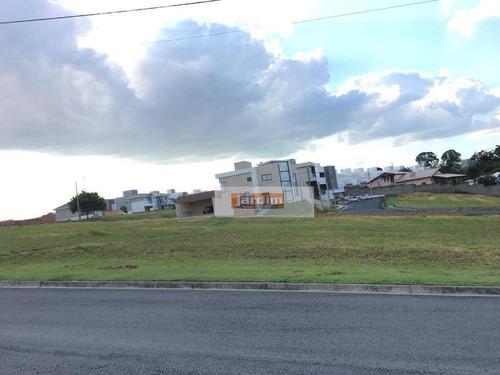 terreno em condomínio fechado le france - sorocaba - medindo 10x25 (aceita auto, facilita e parcela) - te0826