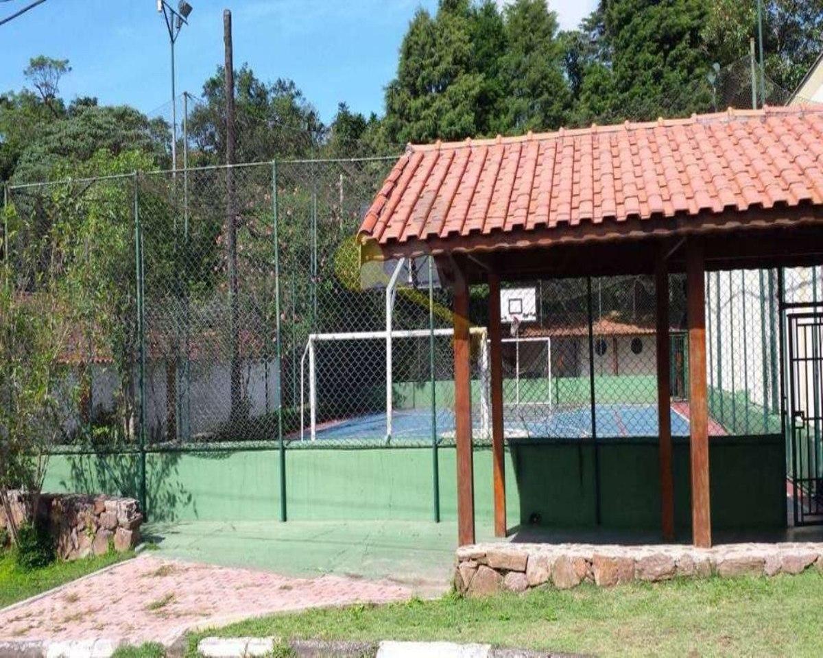 terreno em condomínio fechado na serra da cantareira com área total de 740 m² em aclive. - 1322 - 32145421