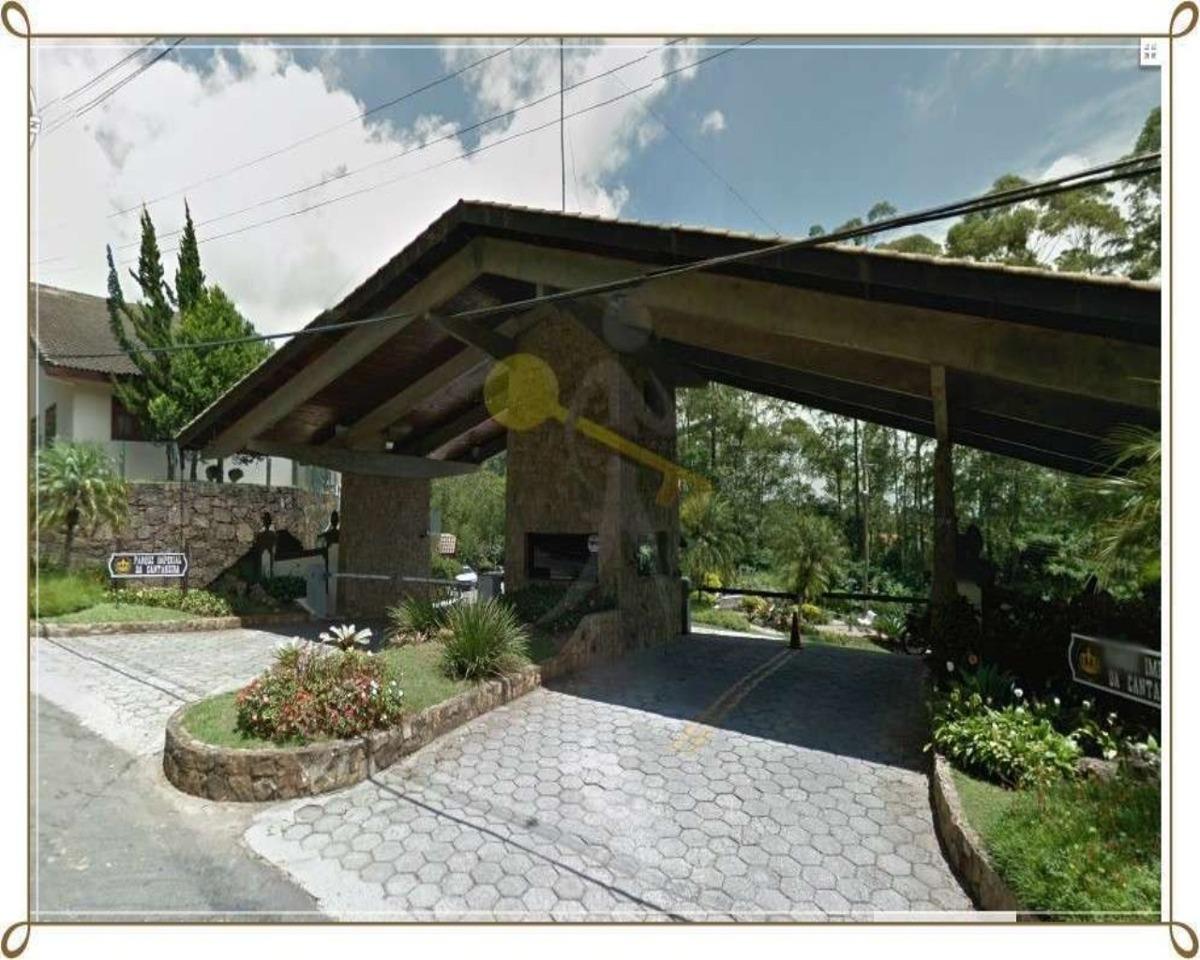 terreno em condomínio fechado na serra da cantareira zona norte de são paulo com área total de 824 m² em declive, bem localizado dentro da associação. - 1333 - 32145434