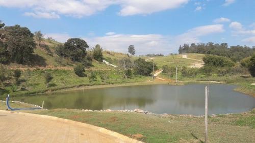 terreno em condomínio gsp vale das águas, itatiba/sp de 702m² à venda por r$ 195.000,00 - te100716