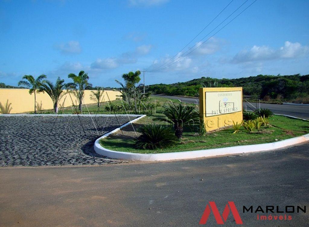 terreno em condomínio palm spring em muriú