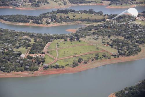 terreno em condomínio para venda em joanópolis, palmas do paiol - g0466