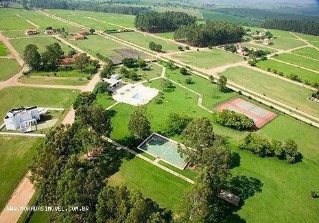 terreno em condomínio para venda em paranapanema, gleba v - 1751