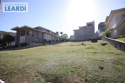 terreno em condomínio tamboré - santana de parnaíba - ref: 434948