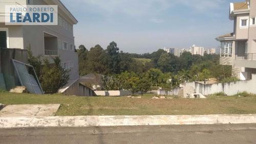 terreno em condomínio tamboré - santana de parnaíba - ref: 435525