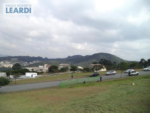 terreno em condomínio tamboré - santana de parnaíba - ref: 469934