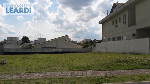 terreno em condomínio tamboré - santana de parnaíba - ref: 481157