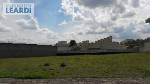 terreno em condomínio tamboré - santana de parnaíba - ref: 481174