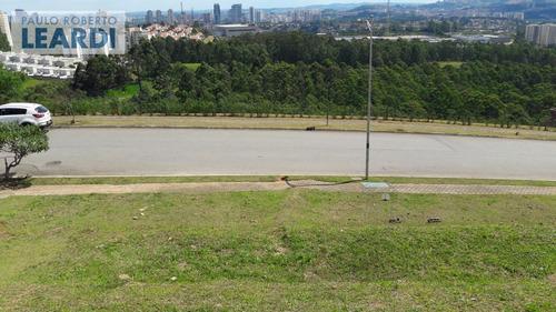 terreno em condomínio tamboré - santana de parnaíba - ref: 481184