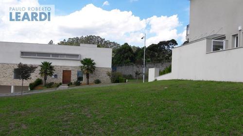 terreno em condomínio tamboré - santana de parnaíba - ref: 481185