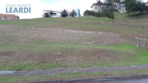 terreno em condomínio tamboré - santana de parnaíba - ref: 481278