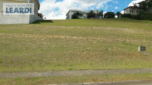 terreno em condomínio tamboré - santana de parnaíba - ref: 481283