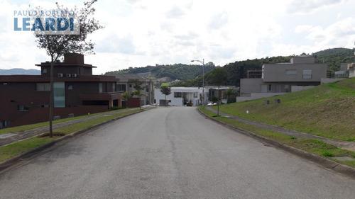 terreno em condomínio tamboré - santana de parnaíba - ref: 481286