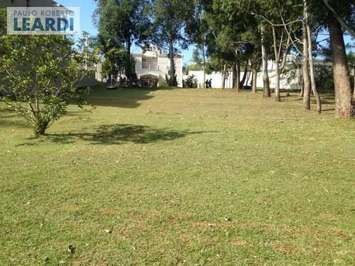 terreno em condomínio tamboré - santana de parnaíba - ref: 481399