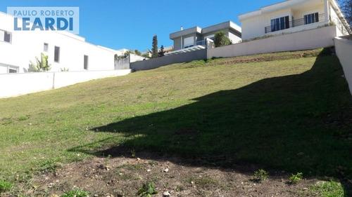 terreno em condomínio tamboré - santana de parnaíba - ref: 491452