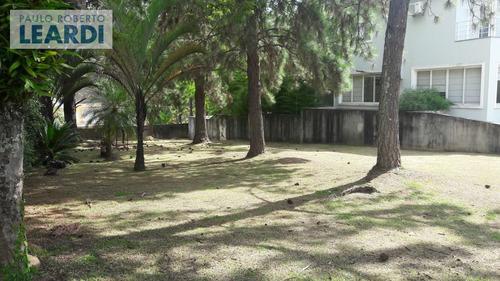 terreno em condomínio tamboré - santana de parnaíba - ref: 491602
