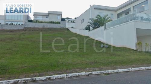 terreno em condomínio tamboré - santana de parnaíba - ref: 492397