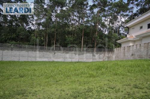 terreno em condomínio tamboré - santana de parnaíba - ref: 492563