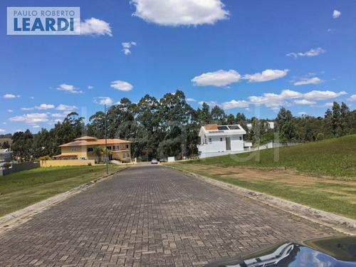 terreno em condomínio tamboré - santana de parnaíba - ref: 492717