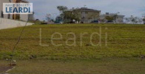 terreno em condomínio tamboré - santana de parnaíba - ref: 492820