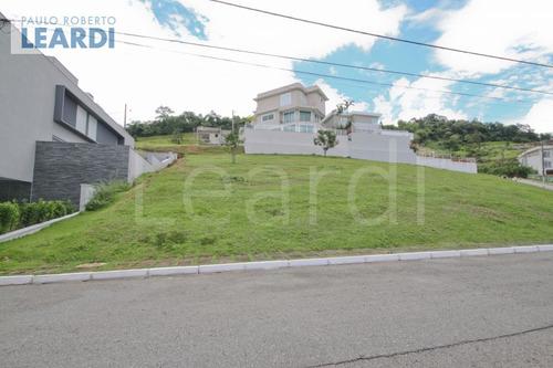terreno em condomínio tamboré - santana de parnaíba - ref: 493156