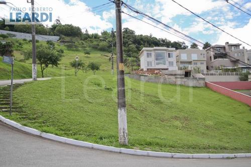 terreno em condomínio tamboré - santana de parnaíba - ref: 493166