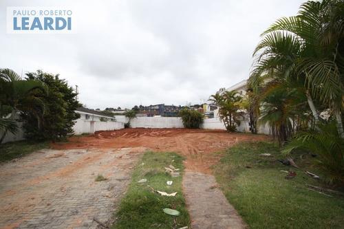terreno em condomínio tamboré - santana de parnaíba - ref: 493677