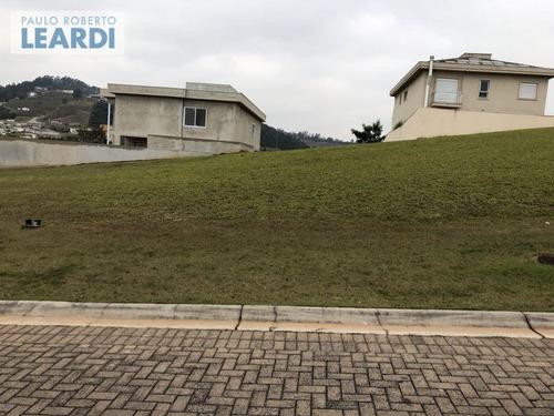 terreno em condomínio tamboré - santana de parnaíba - ref: 494786