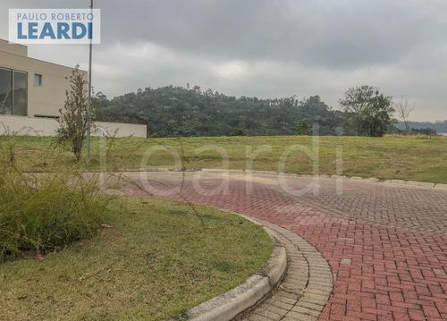 terreno em condomínio tamboré - santana de parnaíba - ref: 535141