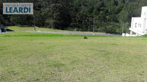 terreno em condomínio tamboré - santana de parnaíba - ref: 539927