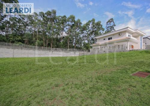 terreno em condomínio tamboré - santana de parnaíba - ref: 545206