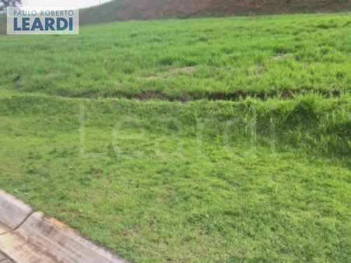 terreno em condomínio tamboré - santana de parnaíba - ref: 545208