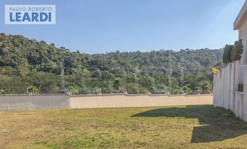 terreno em condomínio tamboré - santana de parnaíba - ref: 549962
