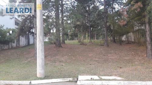 terreno em condomínio tamboré - santana de parnaíba - ref: 554126