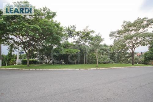 terreno em condomínio tarumã - santana de parnaíba - ref: 500104