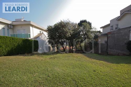 terreno em condomínio tarumã - santana de parnaíba - ref: 512167