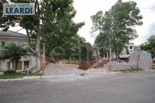 terreno em condomínio tarumã - santana de parnaíba - ref: 544351