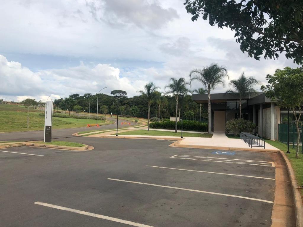 terreno em condomínio terras alpha anápolis, anápolis/go de 0m² à venda por r$ 320.000,00 - te325899