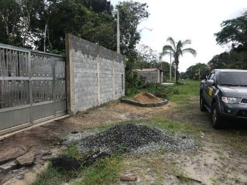 terreno em itanhaém com 250 m² e escritura - ref 3637-p