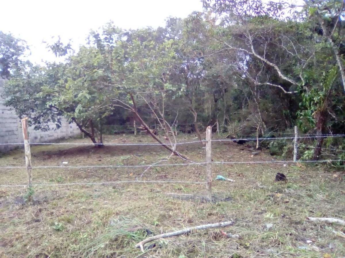 terreno em itanhaém, medindo 12 metros de frente por 21