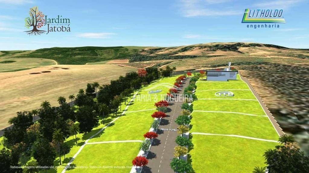 terreno em lançamento à venda, 180 m² por r$ 90.000 - jardim residencial jatobá, ferraz - rio claro/sp - te0084