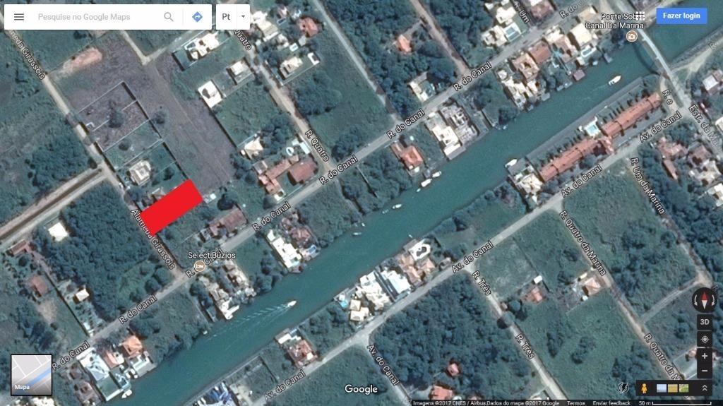 terreno em marina, armação dos búzios/rj de 0m² à venda por r$ 220.000,00 - te428835