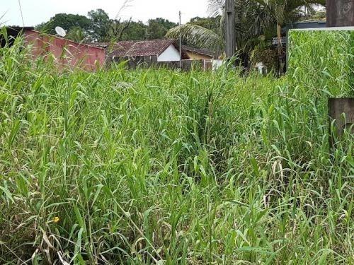 terreno em mongaguá ficando lado serra com 105m² 6583
